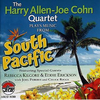 Allen, Harry/Joe Cohn - spiller musik fra syd Pacif [CD] USA importerer