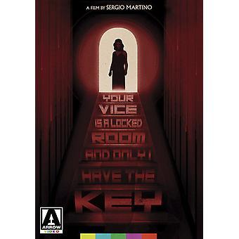Din Vice er en låst rum og kun jeg har nøglen [DVD] USA importerer