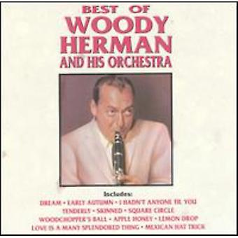 Woody Herman & hans orkester - bästa Woody Herman & Orchest [CD] USA import