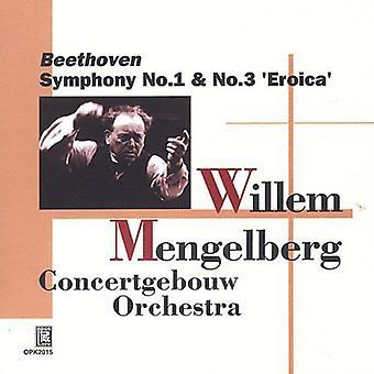 Larsen Beethoven - Beethoven: Symfonier nr. 1 & 3 [CD] USA import
