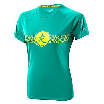 Mizuno Women DryLite Wave Tee Laufshirt - J2GA4205-32