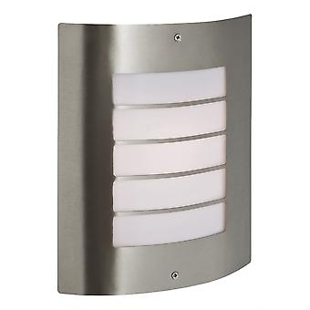 Firstlight Modern Stainless Steel Outdoor Wall Light