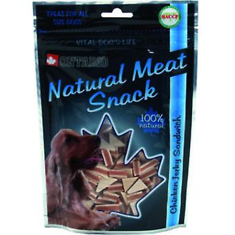 Ontario Dog Duck Jerky Snack Sandwich 70g (Dogs , Treats , Eco Products)