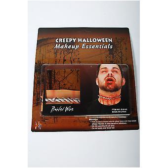 Halloween og horror Halloween ar skåret halsen