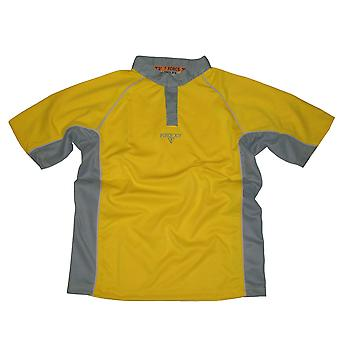 FORCE XV paramata teamwear rugby match shirt [yellow]