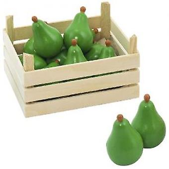 Goki Pears in fruit crate (Toys , Home And Professions , Professions)