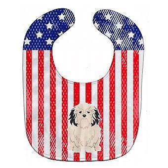 Carolines Treasures  BB3014BIB Patriotic USALowchen Baby Bib