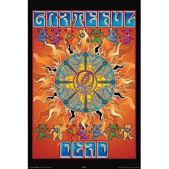 Grateful Dead - Sun Poster Poster afdrukken