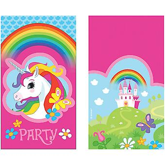 Amscan Unicorn Party Invitation Cards (Pack of 8)