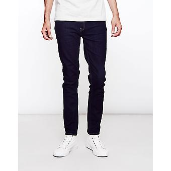 Farah Drake Soft Stretch Rinse Jeans Navy