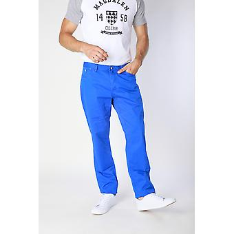 Jaggy Trousers Blue Men