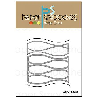 Papier Smooches Dies-golvenpatroon A2D402