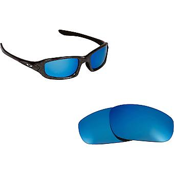 Best SEEK Polarized Replacement Lenses - Oakley FIVES (2009) Blue Mirror