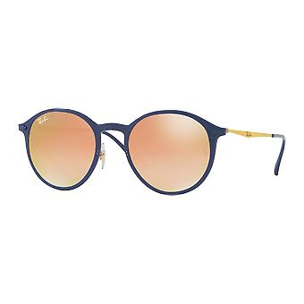 Ray - Ban Round Light Ray blue mirrored gradient Brown Rose
