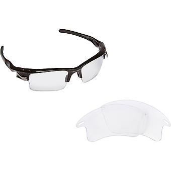 Best SEEK Replacement Lenses for Oakley Sunglasses FAST JACKET XL Clear