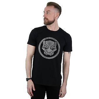 Marvel mannen Black Panther verdrietig pictogram T-Shirt