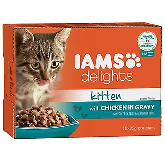 IAMS Wet Cat Kitten Multibox (Cats , Cat Food , Wet Food)