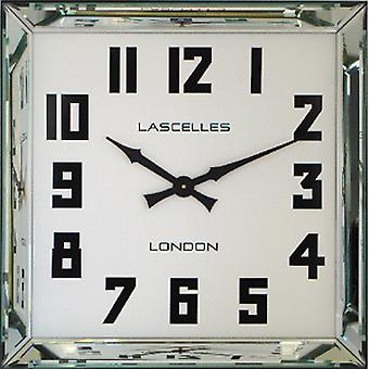 Roger Lascelles  Manhattan Mirrored Wall Clock