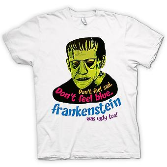Womens T-shirt - Frankenstein Was Ugly Too - Funny