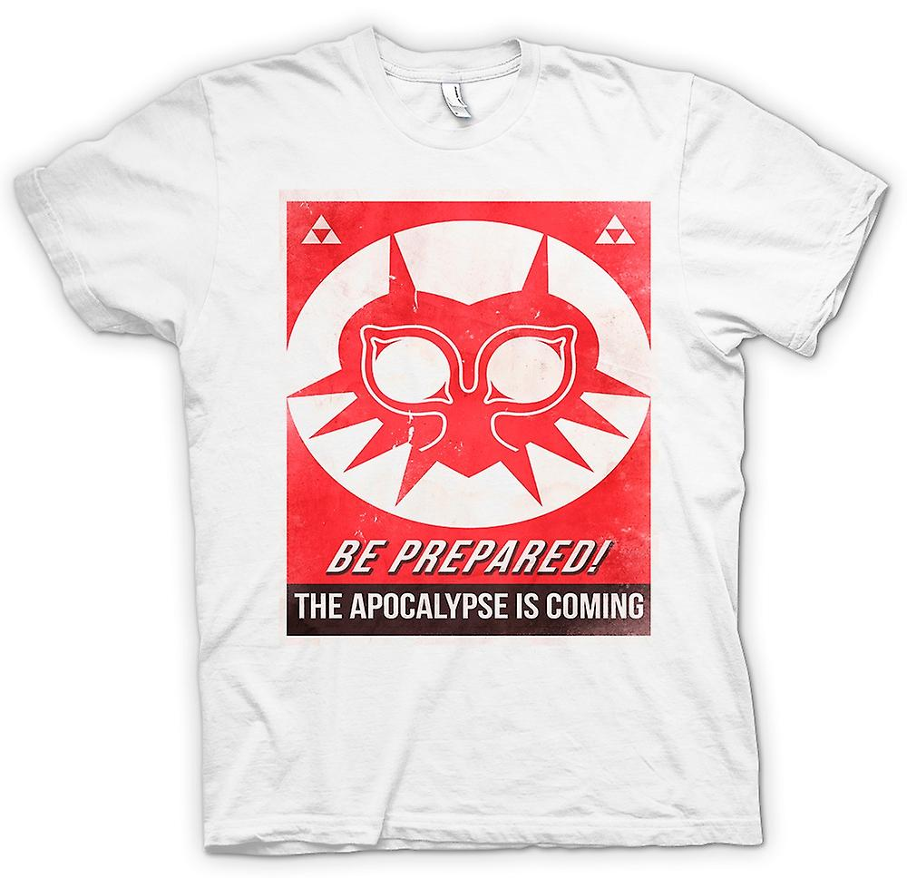 Womens T-shirt - Be Prepared, The Apocolypse Is Coming