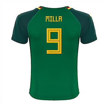 2018-19 Cameroon Home Shirt (Milla 9)