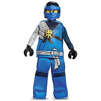 Jay Prestige Lightning LEGO Ninjago Master of Spinjitzu Minifigure Boys Costume
