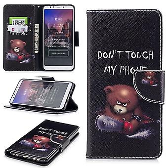 Pocket wallet motif 30 for Xiaomi Redmi 5 protection sleeve case cover pouch new