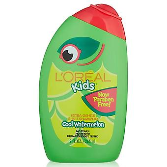 L'oreal Kids Extra Gentle 2-in-1 Shampoo, Cool Watermelon, 9 Oz