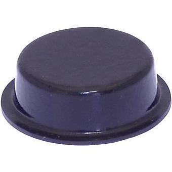 TOOLCRAFT PD2020SW foten selvklebende, sirkulære svart (Ø x H) 20 x 6.2 mm 1 eller flere PCer