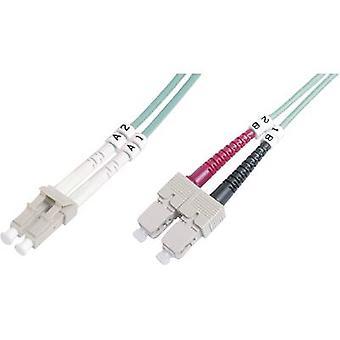 Digitus Fibreglass FOC Cable [1x LC plug - 1x SC plug] 50/125 µ Multimode OM3 5 m