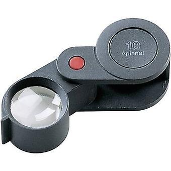 Falten hand Lupe Vergrößerung: 10 x Objektivgröße: (Ø) 23 mm schwarz Eschenbach 118210