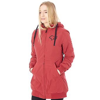 Fox dunkel rote Metrick Sherpa Lined Womens Jacket