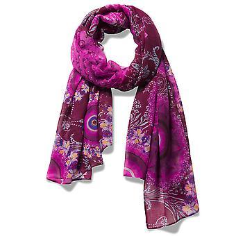 Desigual sjaal pashmina sjaal Fular Galactische 18WAWW50/3004