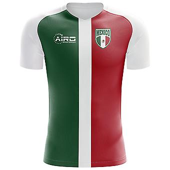 2018-2019 Mexico Flag Concept Football Shirt
