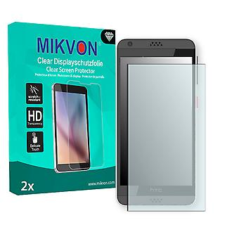 HTC Desire 630 Screen Protector - Mikvon Clear (Retail Package with accessories)