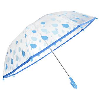 Drizzles Childrens/Kids Raindrops Umbrella