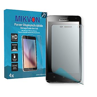 Lenovo S660 Screen Protector - Mikvon Armor Screen Protector (Retail Package with accessories)