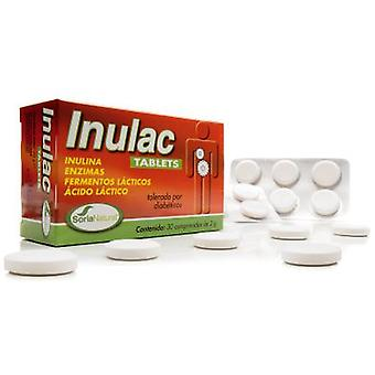 Soria Natural Inulac Tablets 30 Tablets (Vitamins & supplements , Enzymes)