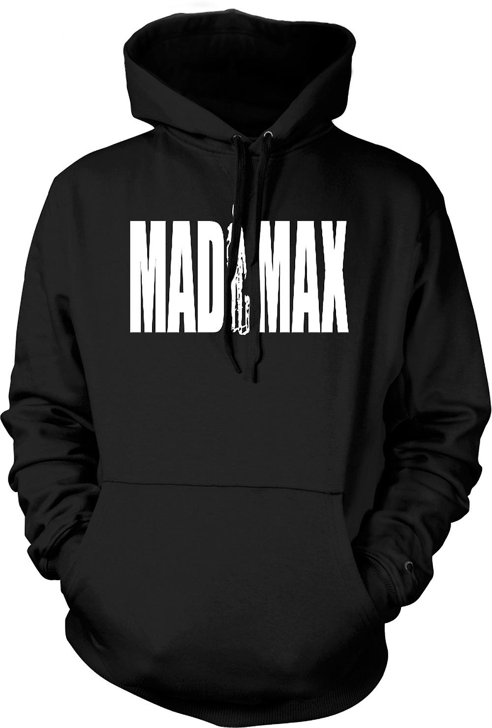 Mens Hoodie - Mad Max - Gibson - Cult Retro Movie