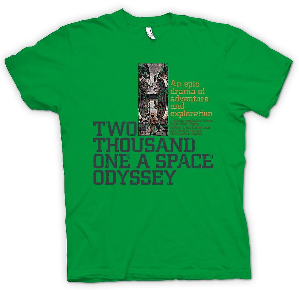 Mens T-shirt - 2001 A Space Odyssey - Kubrick