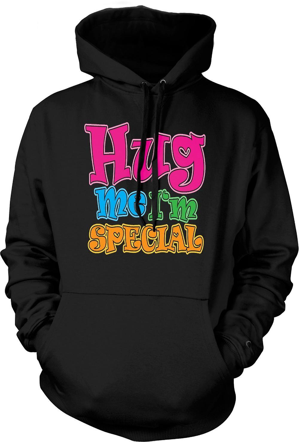 Mens Hoodie - Hug Me Io sono speciale - divertente