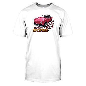 Triumph Spitfire - oldtimer Mens T Shirt
