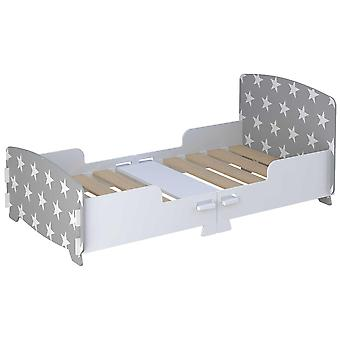 Kidsaw Star Junior/Toddler Bed gris