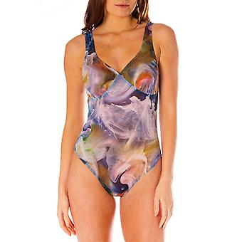 أعلى تان كينكي تاهيتي من خلال دعم طباعة عالية الدقة ملابس السباحة