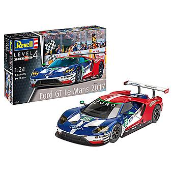 Revell Ford GT Le Mans Model Kit 01:24