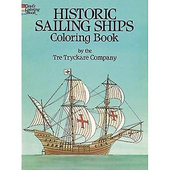 Historic Sailing Ships Colouring Book