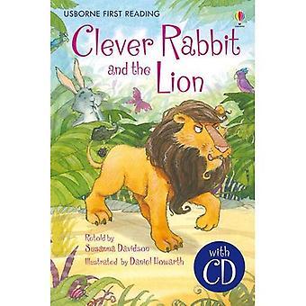 Fiksu kani ja leijona (Usborne ensimmäinen käsittely): Usborne Englanti peruskoulun