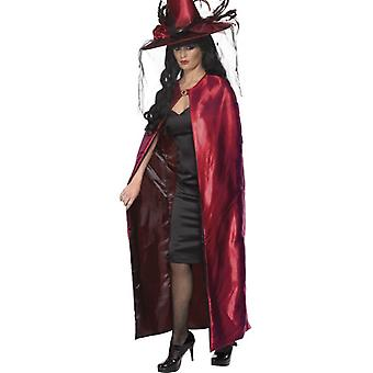 Womens Reversible Cape  Fancy Dress Accessory