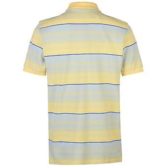 Pierre Cardin Mens Stripe Polo Shirt T Shirt T-Shirt Short Sleeve Tops