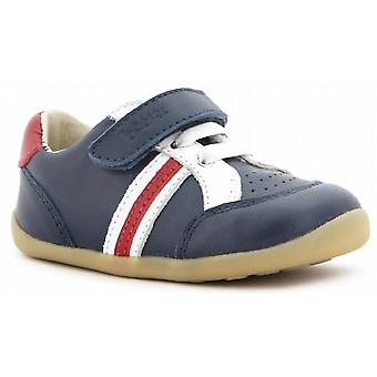 Bobux Step Up Boys Trackside Sports Navy Shoe